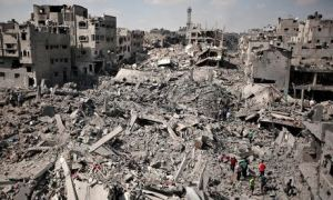 After the devastation of Gaza: 'My son asked me: when will the next war be?'